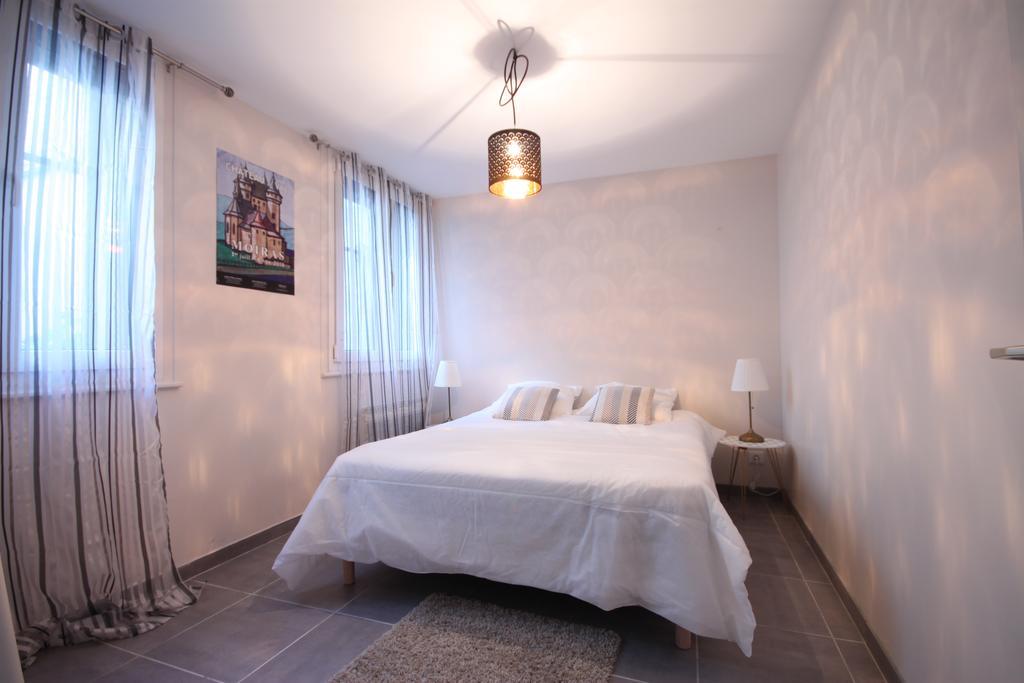 chambre lit double du classique