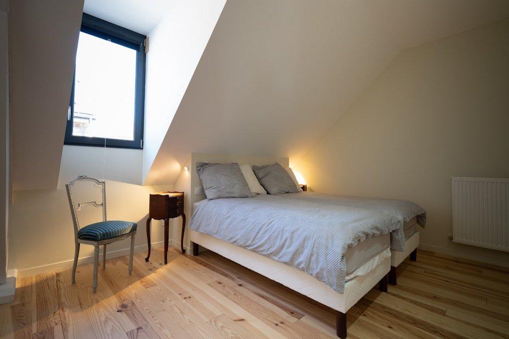 chambre 2 lits simples du cosy à l'étage