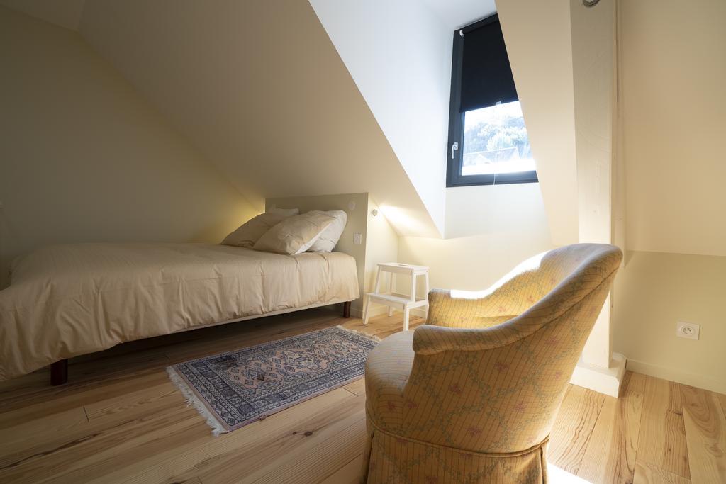 chambre lit double du cosy à l'étage